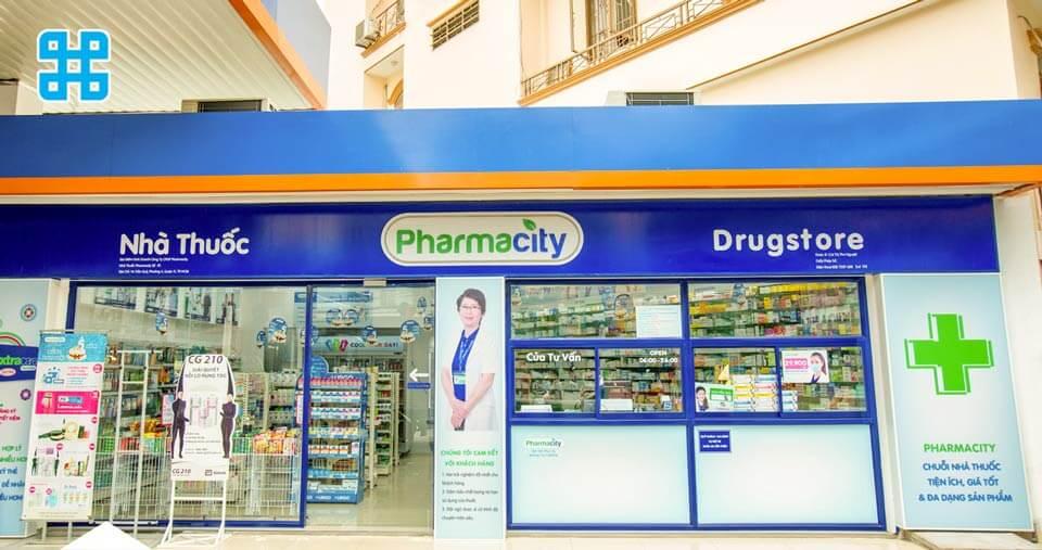 bảng hiệu tiệm thuốc- mẫu 1