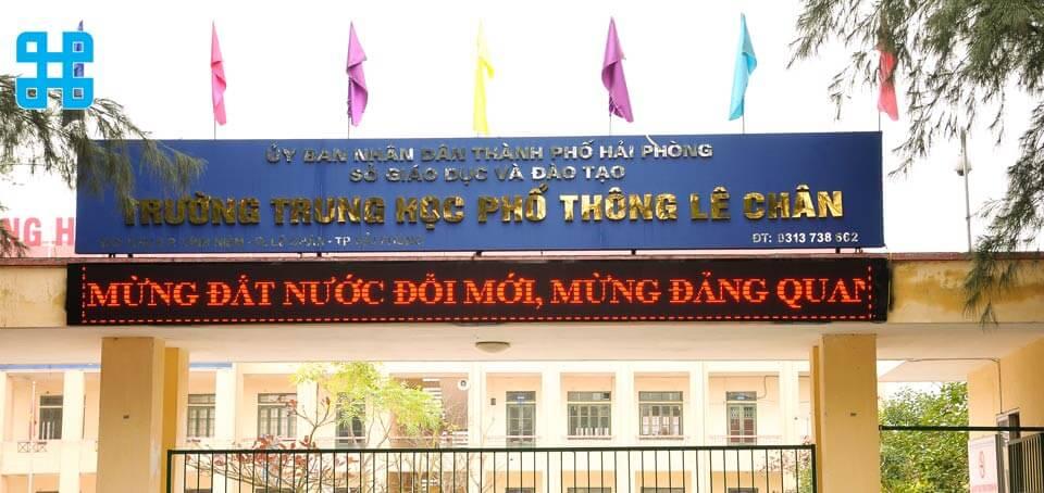 bảng hiệu trường học