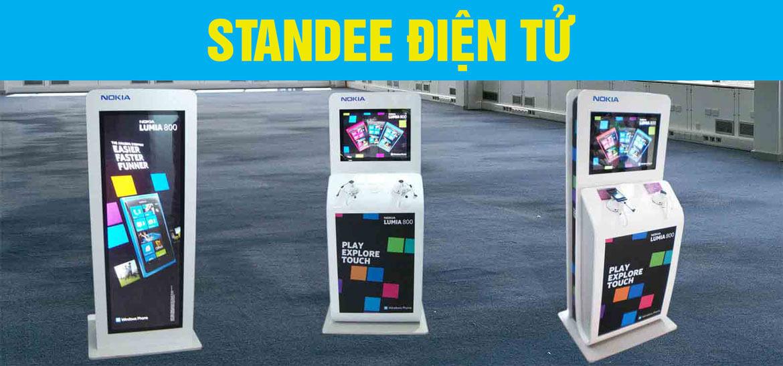 standee điện tử