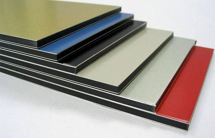 Bảng màu aluminium