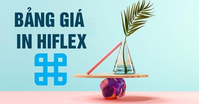 Bảng giá in bạt hiflex thường, hiflex uv