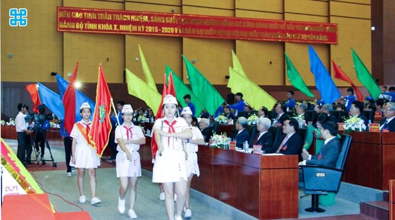 Băng rôn ngày thành lập đài truyền hình Việt Nam