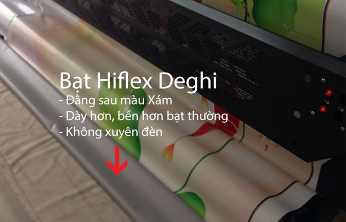 bạt hiflex 2 da