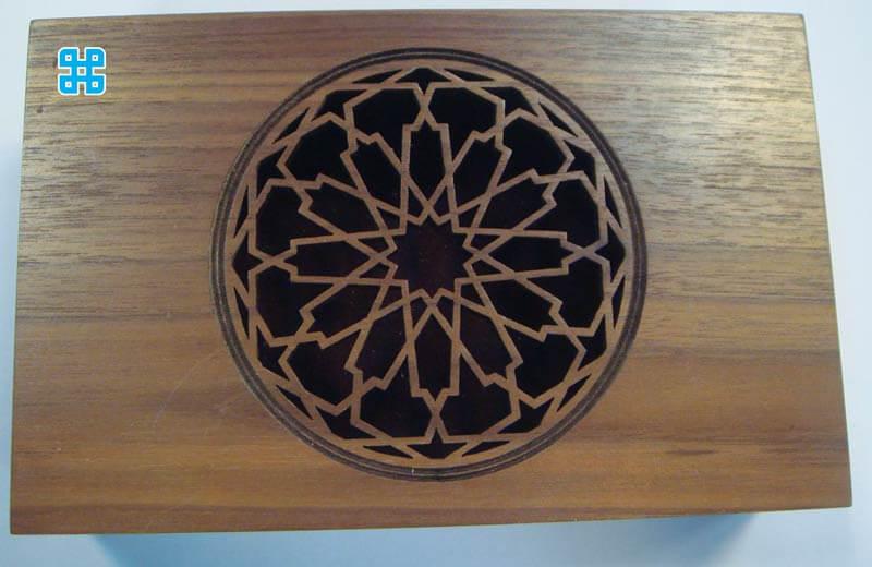 Mẫu gỗ trang trí bàn
