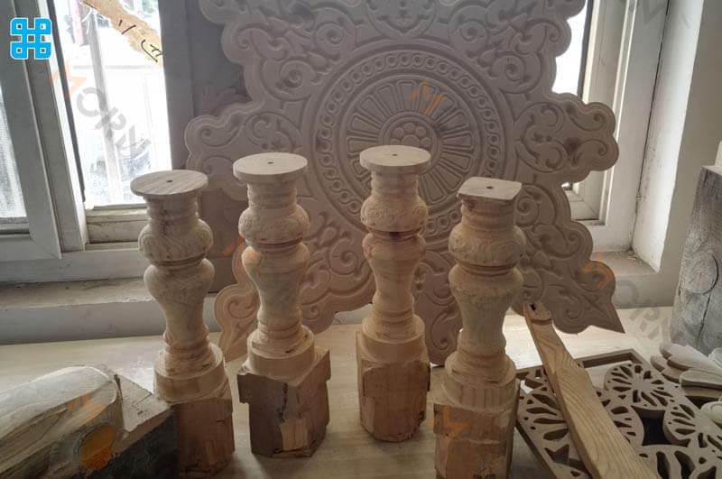 Những mẫu gỗ chưng trong nhà`