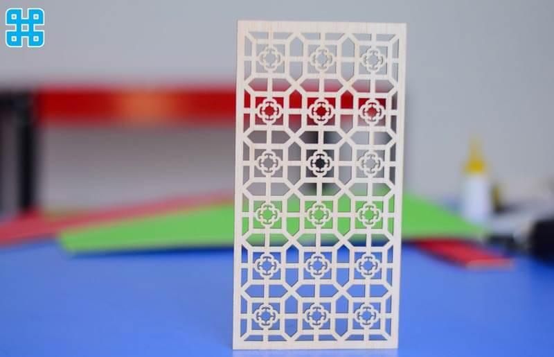 mẫu test thử vách ngăn nhựa cao cấp