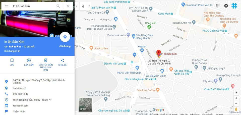 chụp ảnh google map chất lượng cao