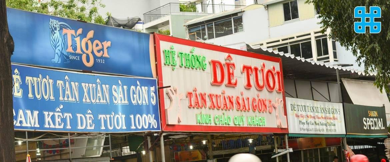 Băng rôn quảng cáo thường thấy ngoài đường