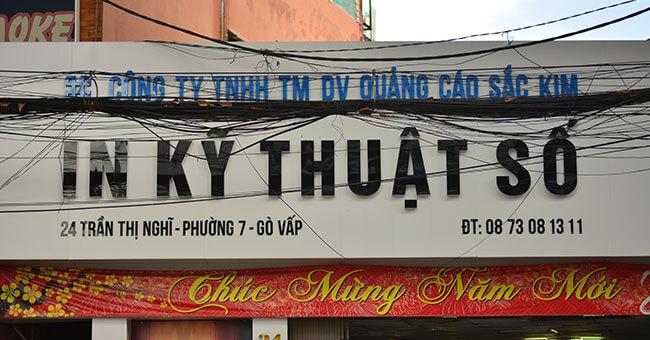 In kỹ thuật số giá rẻ, đẹp, nhanh tại TP. Hồ Chí Minh