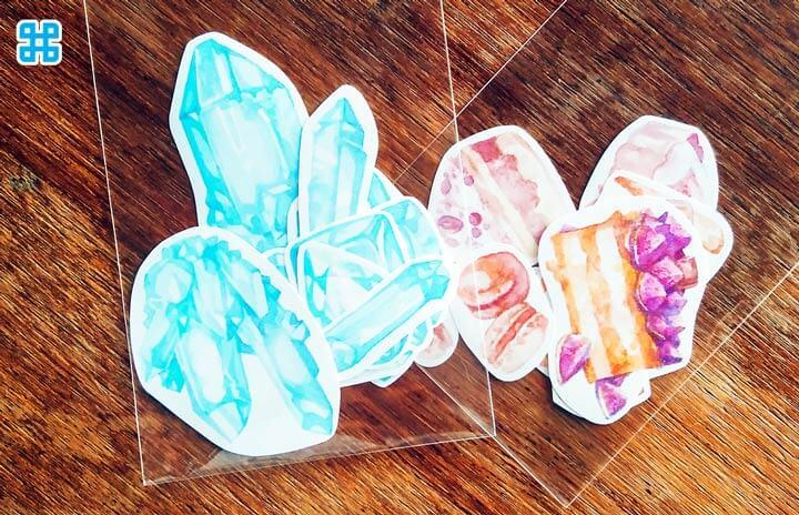 Giấy Crystal