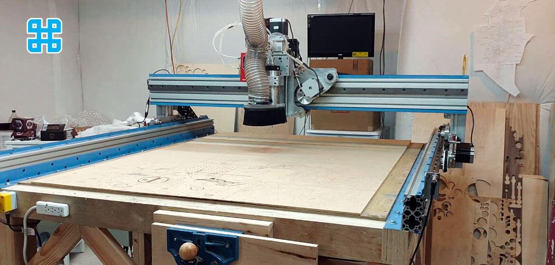 một mẫu máy cnc có khả năng cắt các vật liệu phi kim loại