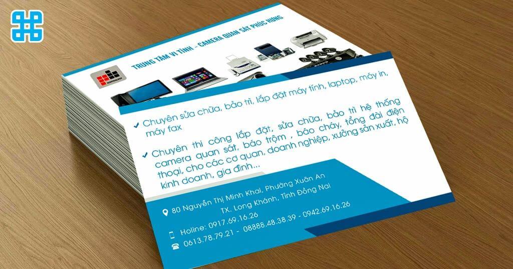 name card là phương tiện rất tốt để quảng bá thương hiệu và phong cách của bạn đến với khách hàng