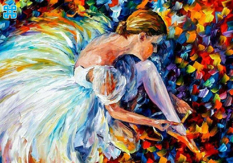 Những tấm ảnh nghệ thuật như tranh sơn dầu sẽ in trên vải silk rất đẹp