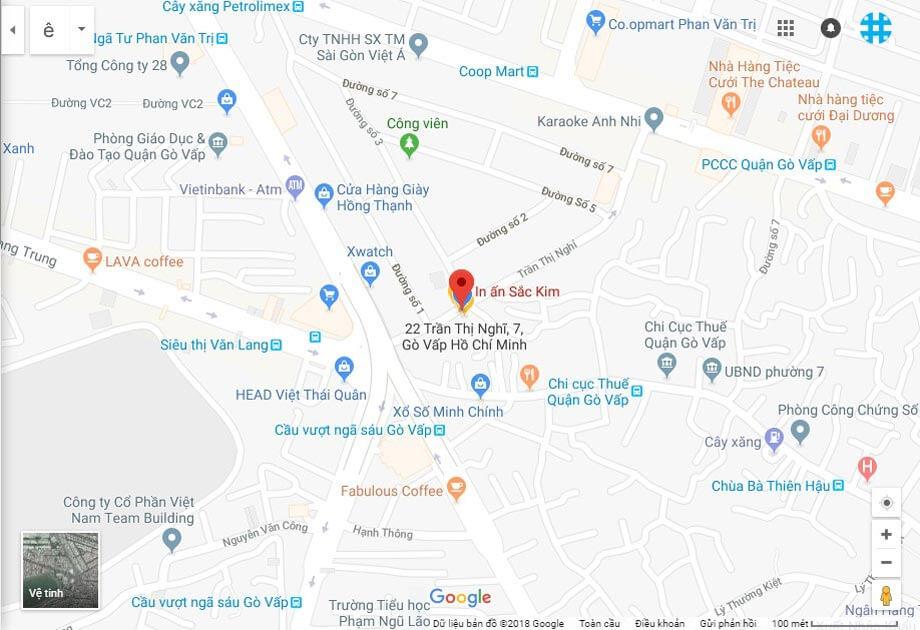cách in bản đồ từ google map đơn giản mà hiệu quả