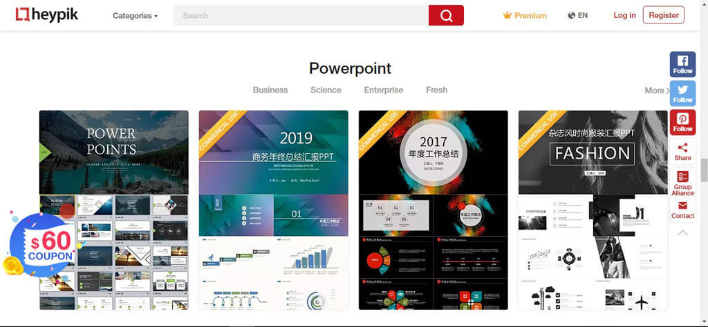 powerpoint category