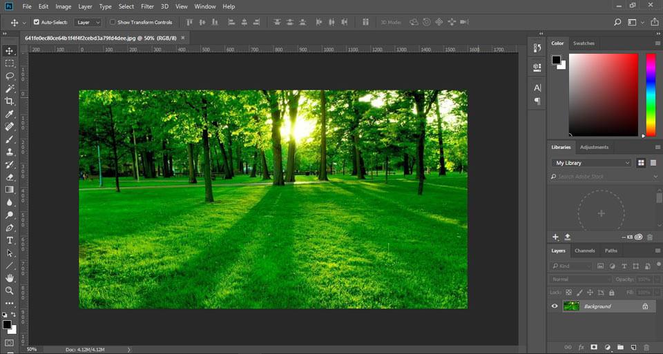 hệ màu rgb trong photoshop