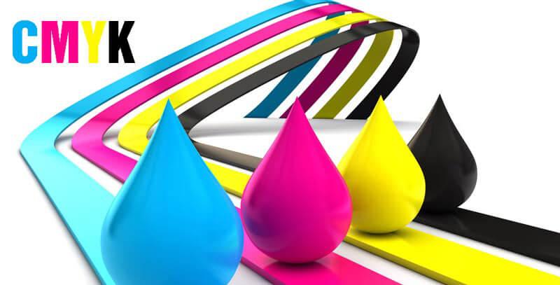 CMYK là hệ màu chính đươc sử dụng trong in ấn