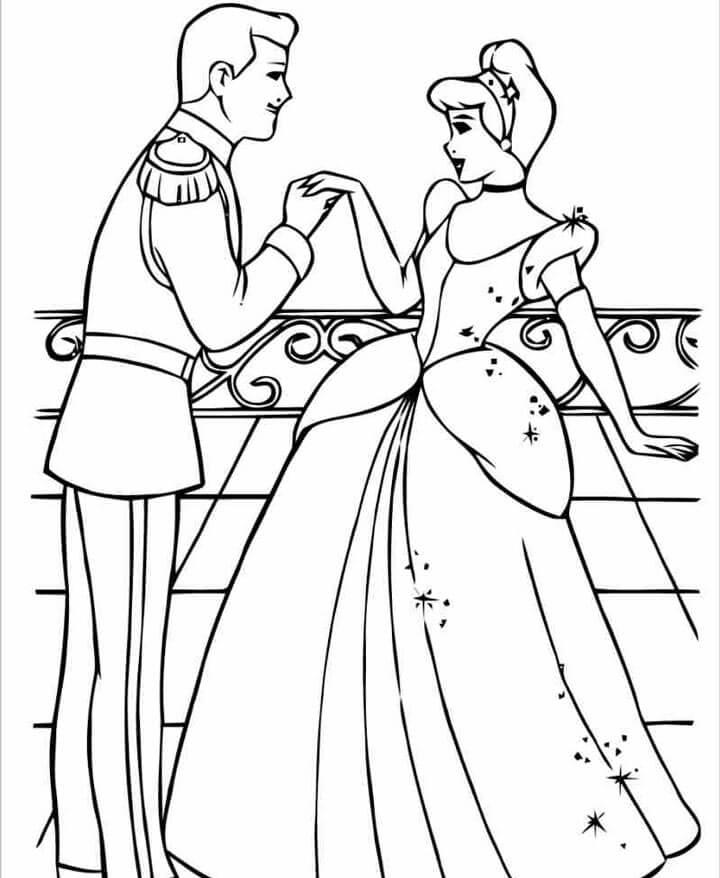 Hoàng tử và công chúa lọ lem