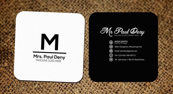 Nên dùng Mr và Ms trên name card tiếng Anh