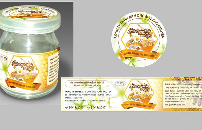 Làm tem dán sản phẩm TPHCM