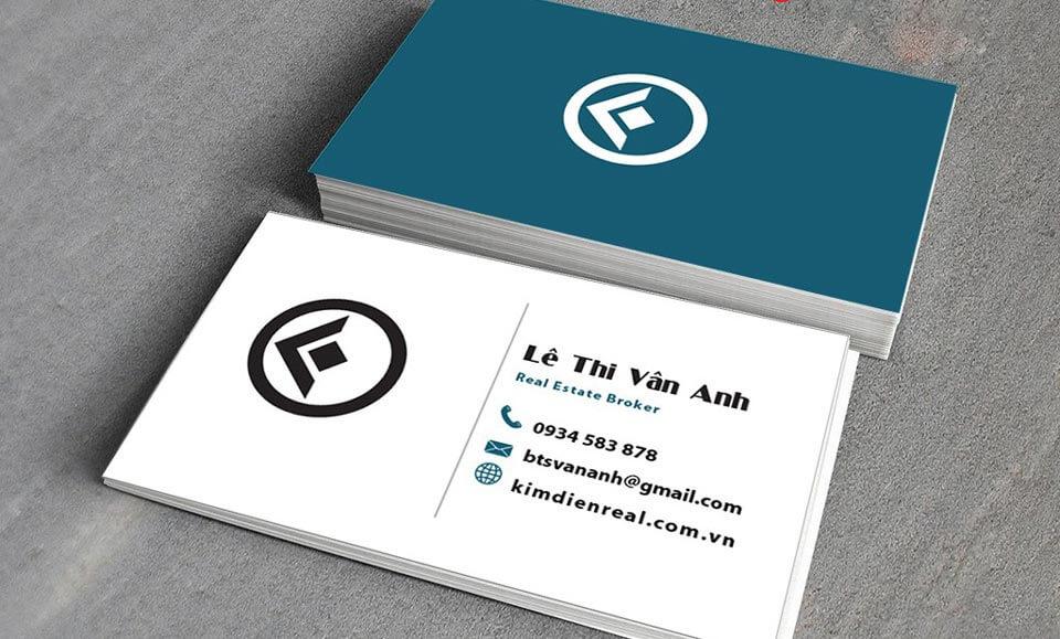 Thiết kế card visit online