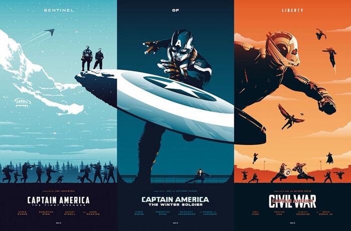 Poster phim thường làm có kích thước 40 x 60 và thường được làm dưới dạng hộp đèn