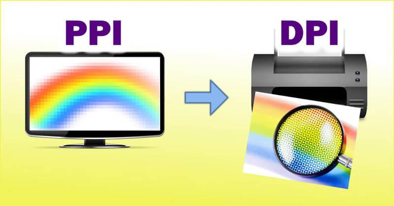 Độ phân giải màn hình dpi và ppi