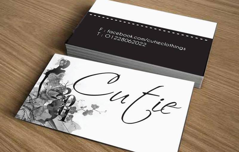 Download mẫu card visit đẹp file Word
