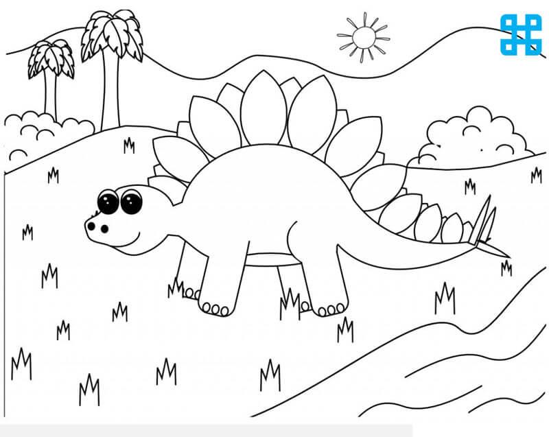 Tranh tô kỹ nguyên của khủng long