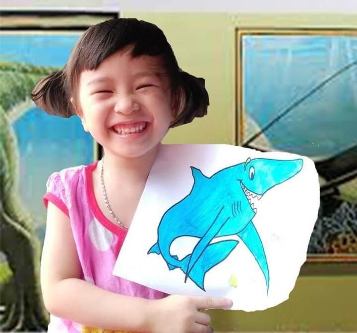 Vẽ tranh tô màu động vật của bé 5 tuổi