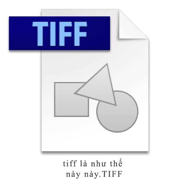 File sử dụng in ấn nhiều nhất có định dạng file tiff