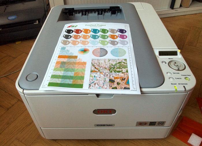 Máy in OKI Led Printer C321dn