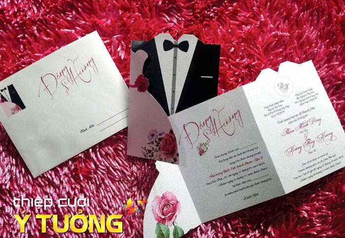 Nhà cung cấp thiệp cưới Ý Tưởng là một trong những nơi cung cấp thiệp cưới đẹp nhất