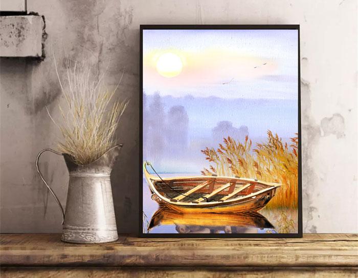 giá máy in tranh canvas