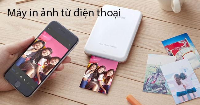 5 loại máy in ảnh mini bluetooth từ điện thoại