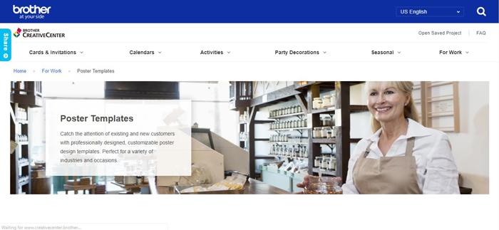 Phần mềm Brother Creative Center giúp người dùng vừa in vừa thiết kế đẹp mắt