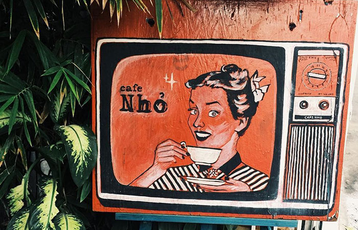 Tiệm cafe Sài Gòn xưa: NHỎ