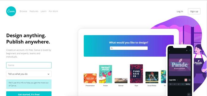 Công cụ thiết kế online Canva được sử dụng nhiều nhất trên thế giới