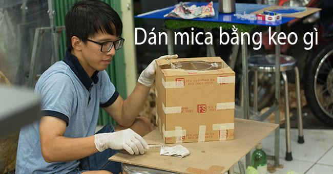 keo dán mica chống nước