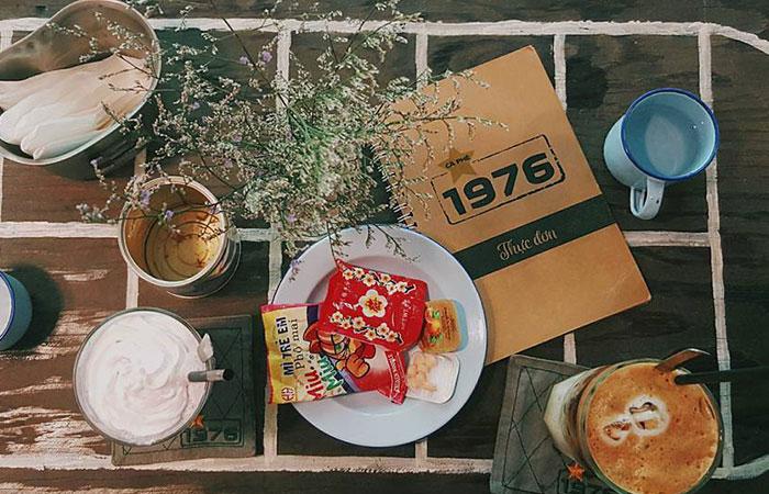 Tiệm cà phê thành lập từ năm 1976