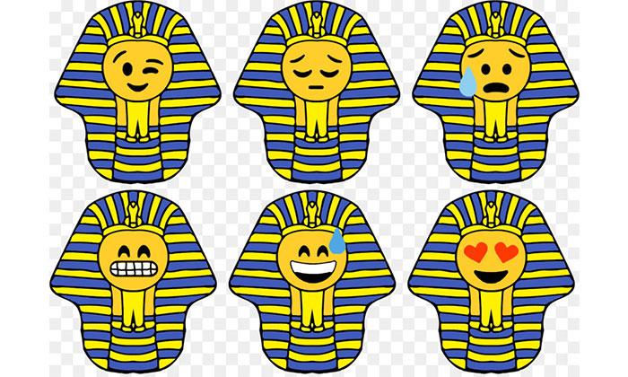 Cách làm hình dán bằng giấy của người Ai Cập được cho là cach làm stkcer đầu tiên trên thế giới