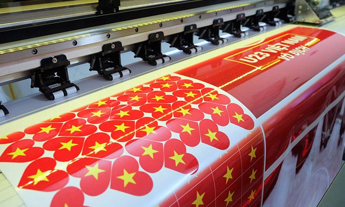 Decal sticker tại Sắc Kim đều có độ sắc nét và chất lượng màu bền bỉ