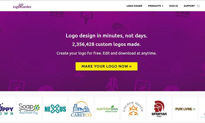 Trang web tự thiết kế logo miễn phí
