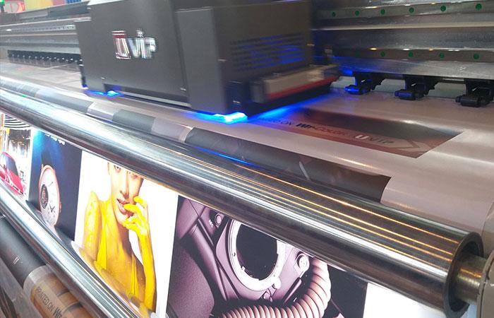 Máy in hiflex tại công ty Sắc Kim