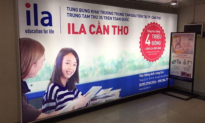 Trang thiết bị hiện đại tại quảng cáo Phẳng giúp phục vụ làm bảng hiệu tốt nhất