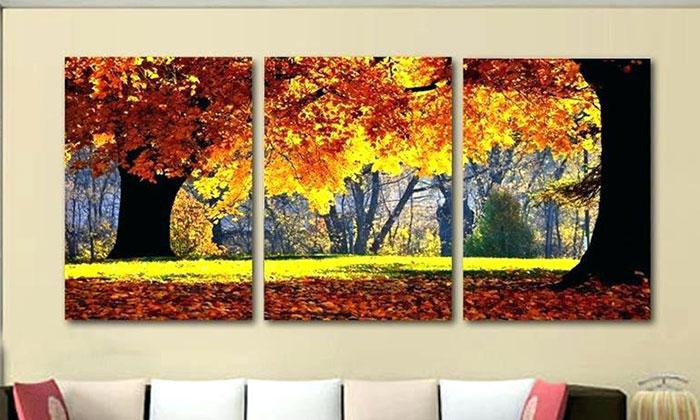 tranh treo tường phòng khách hiện đại