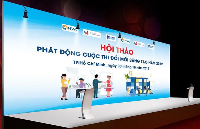 In backdrop Bình Thạnh