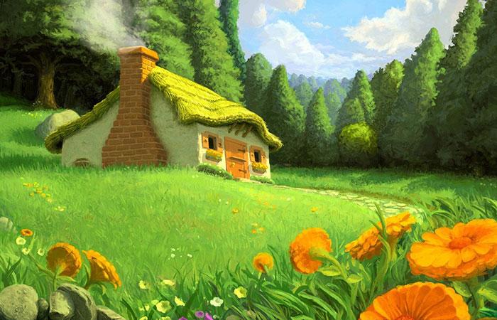 Chủ đề tranh thích hợp nhất cho người mệnh Mộc là về thiên nhiên và cây cỏ