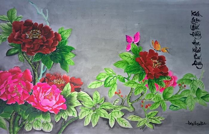 Hoa mẫu đơn - loài hoa được xem là quốc hoa của người Trung Quốc
