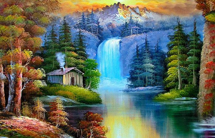 Mệnh Mộc thích hợp với những loại tranh phong cảnh về thiên nhiên và có yếu tố nước